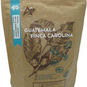 Kaffeeverpackung Alptaste Guatemala Finca Carolina