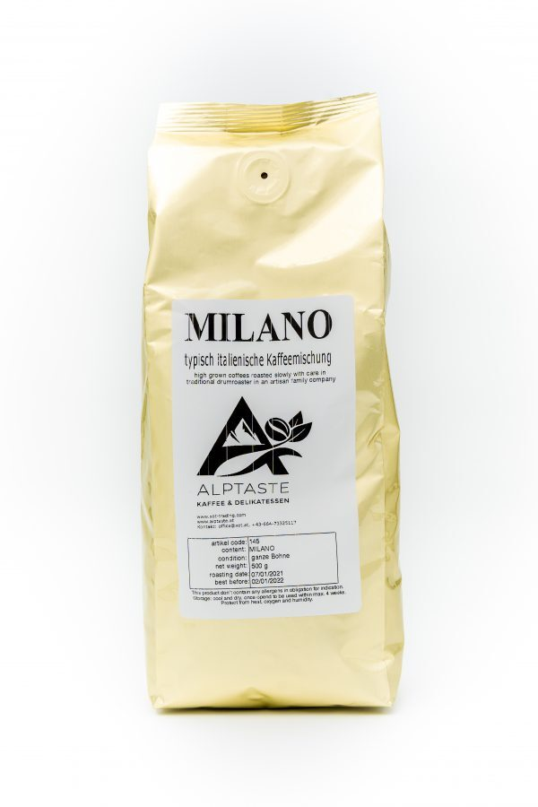 Alptaste Milano ganze Bohne