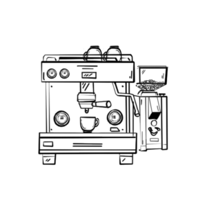 Kaffeemaschinen und Mühlen