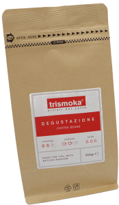 Verpackung Trismoka Blend Degustatione