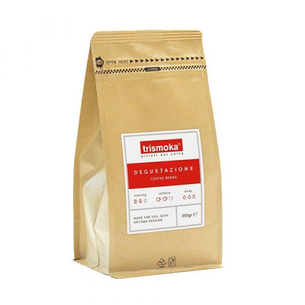 Verpackung Trismoka Blend Degustatione 250g
